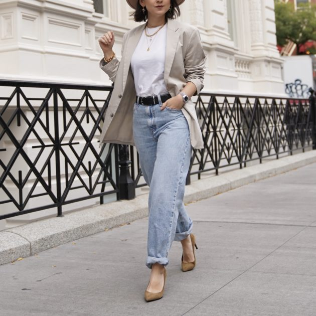 Minimalist fashion streetstyle How To Look Expensive On a Budget